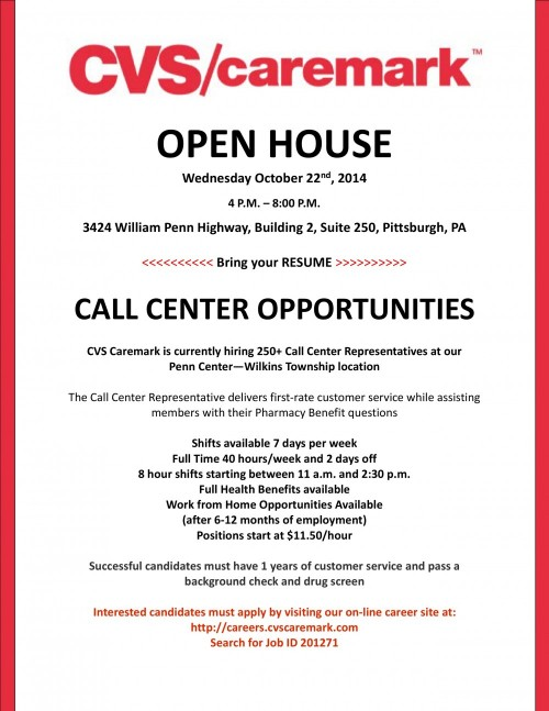 cvs  caremark open house
