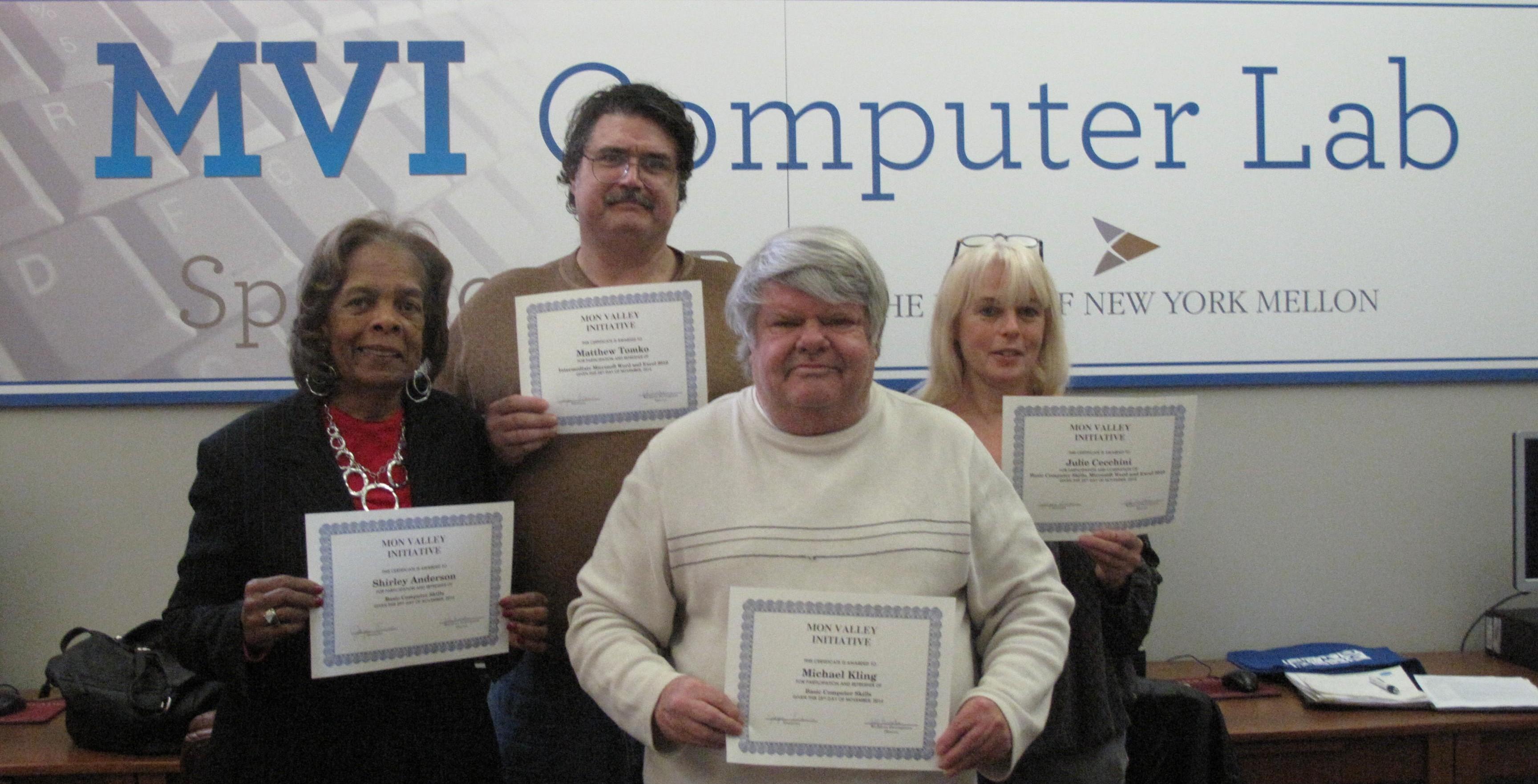 Introducing Four New Computer Class Graduates!