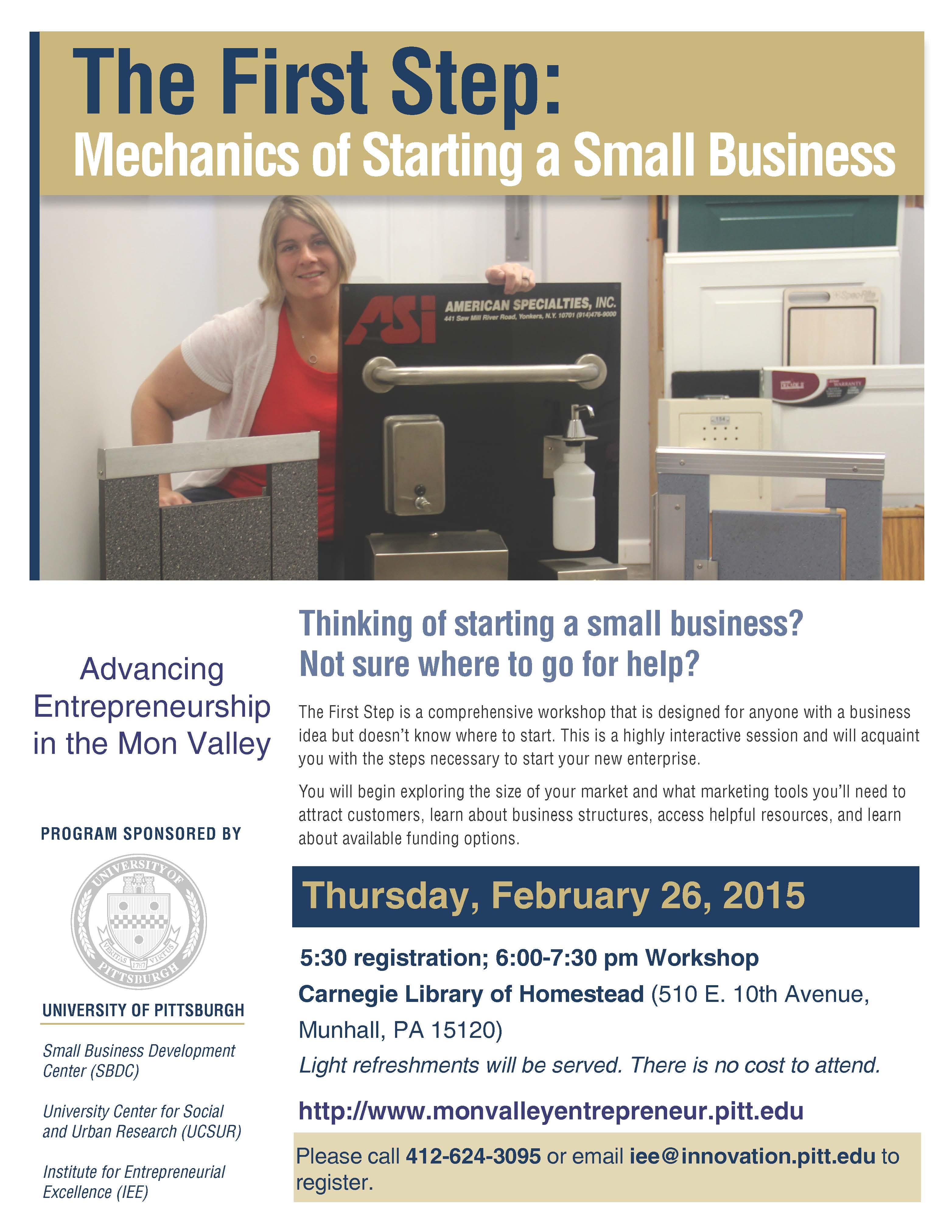 Advancing Entrepreneurship in the Mon Valley