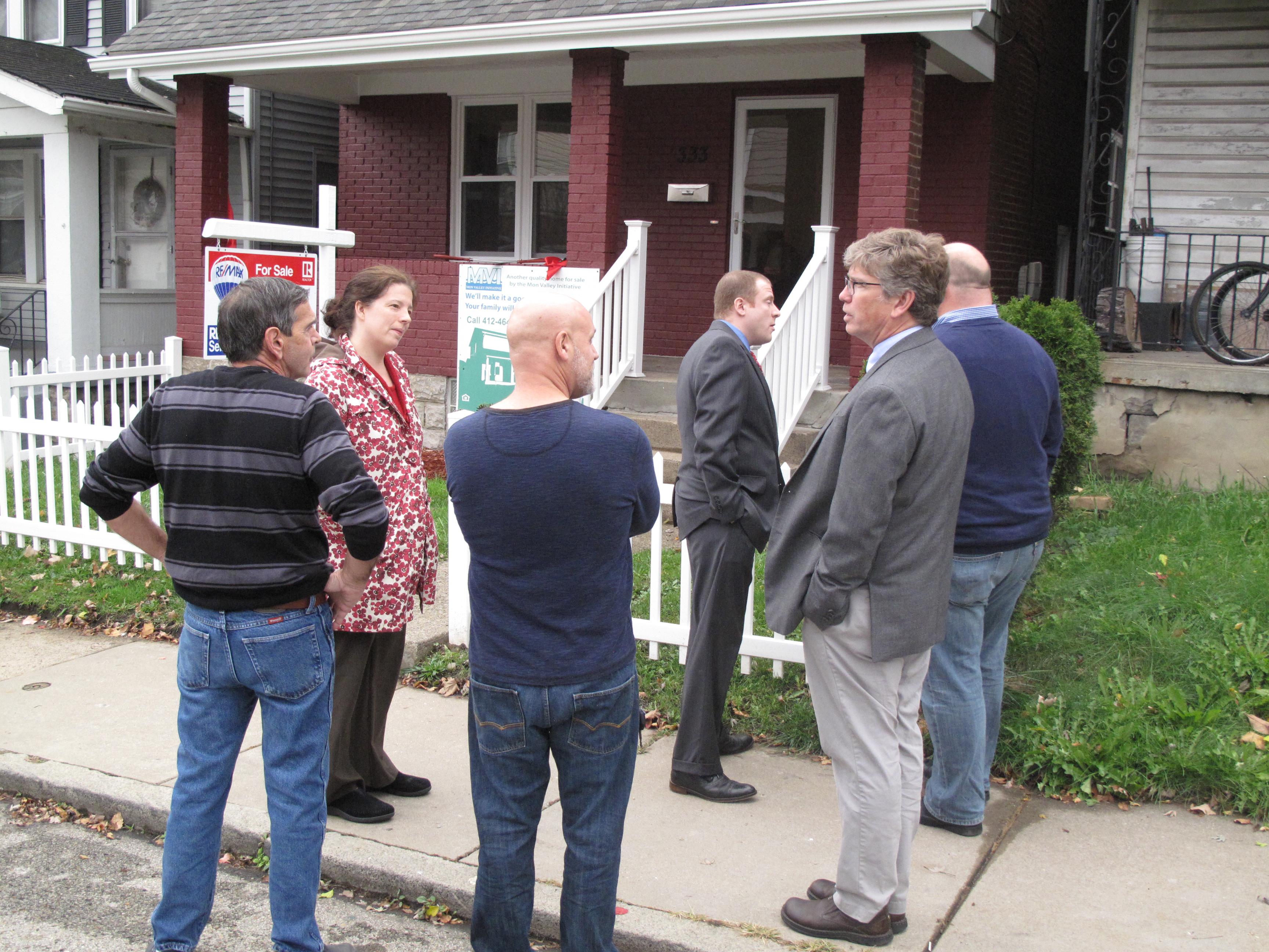 Community leaders mark milestone in Turtle Creek's renewal