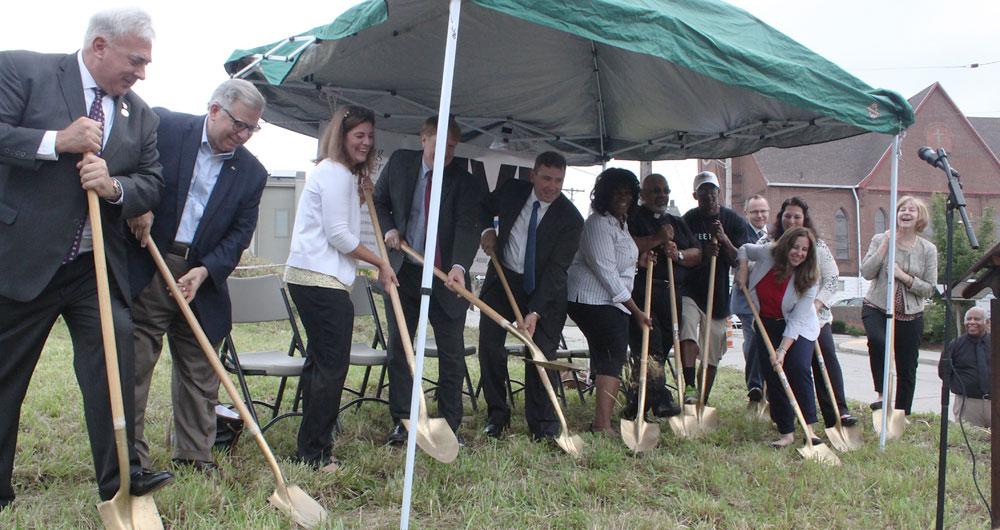 Braddock marks 'new beginning' as Civic Plaza construction goes forward