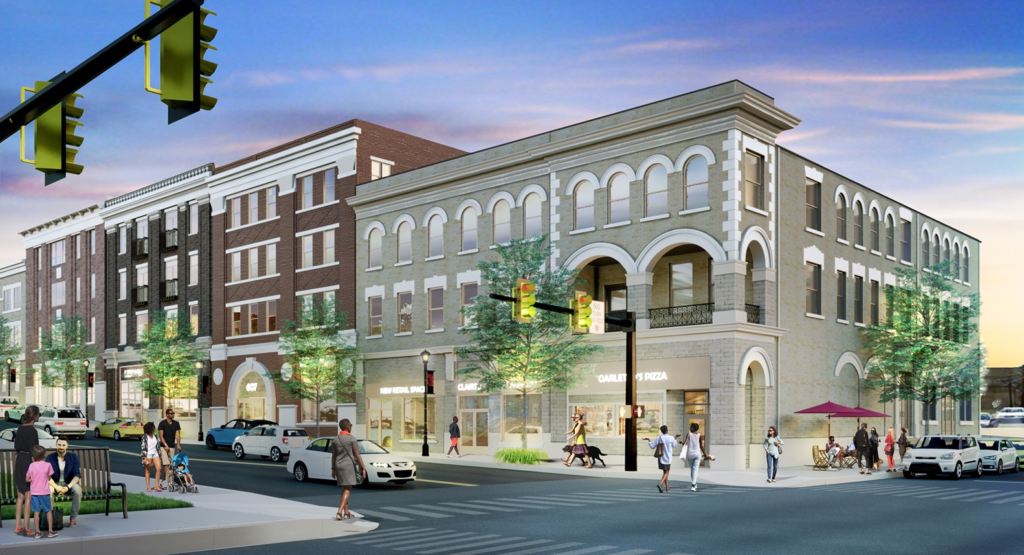 Clairton Inn architect's rendering